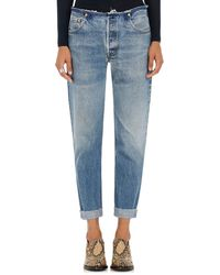 RE/DONE No Waist Relaxed Jeans