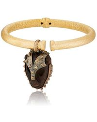 Valentino - Charm Bangle - Lyst