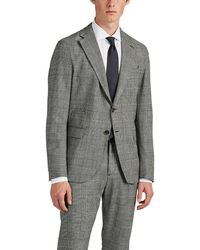 Eleventy - Checked Wool Two-button Sportcoat - Lyst