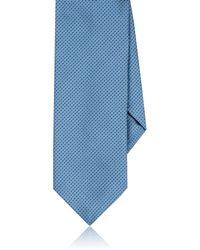 Dolcepunta - Pin-dot Silk Twill Necktie - Lyst
