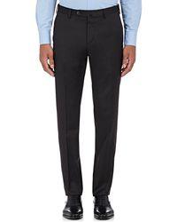 PT01 - Wool Twill Slim Trousers - Lyst