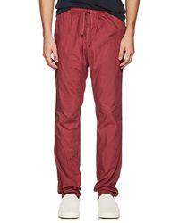 Tomas Maier - Cotton Poplin Pants - Lyst