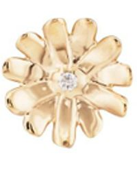 Barneys New York - Diamond Daisy Stud Earring - Lyst