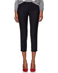 Thom Browne - Wool Low-rise Skinny Trousers - Lyst