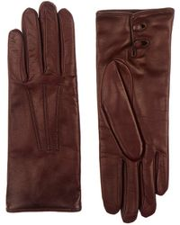 Barneys New York - Nappa Leather Gloves - Lyst