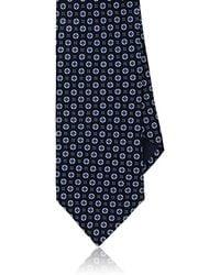 Piattelli - Floral Medallion Silk Foulard Necktie - Lyst