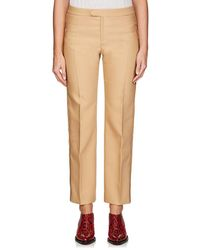 Chloé - Virgin Wool-blend Suiting Twill Straight Trousers - Lyst