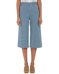 MASSCOB - Striped Denim Wide - Lyst