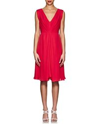 Giorgio Armani - Silk Pleated Dress - Lyst