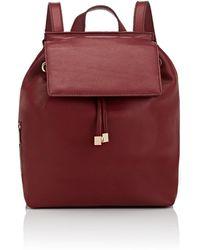 Barneys New York India Leather Backpack
