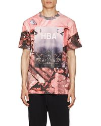 Hood By Air - Overcome-print Cotton T - Lyst