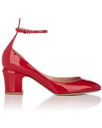 Valentino - Tango Patent Leather Pumps - Lyst