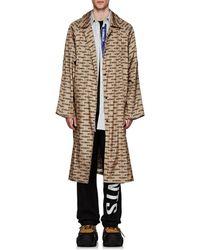 Vetements Monogram Oversized Raincoat