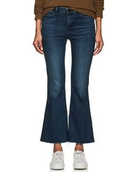 3x1 - Midway Extreme Crop Bell Jeans - Lyst