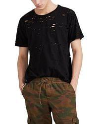 NSF Distressed Cotton T-shirt