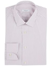 Boglioli - Striped Cotton Dress Shirt - Lyst