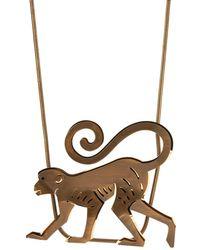 Lanvin - Bar Pendant Necklace - Lyst