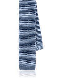 Paolo Albizzati - Two-tone Silk Knit Necktie - Lyst