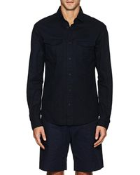 Orlebar Brown - Whitby Cotton Twill Shirt - Lyst