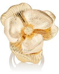 Kenneth Jay Lane | Flower Ring | Lyst