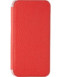 Adopted - Pebbled Leather Iphone® 6 Folio Case - Lyst