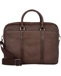 Barneys New York - Two-compartment Briefcase - Lyst
