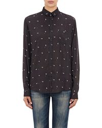 Alexander Olch - Paisley-print Oversized Shirt - Lyst