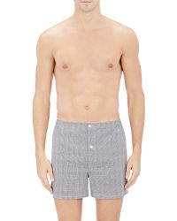 Sleepy Jones - Plaid Boxers - Lyst