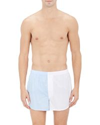 Sleepy Jones - Colorblocked Boxers - Lyst