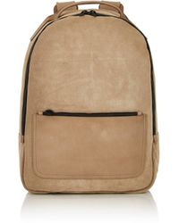 Yeezy - Suede Backpack - Lyst