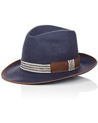 Barbisio - Braided Panama Hat - Lyst