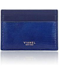 Vianel - Lizard V3 Card Case - Lyst