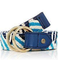 Caputo & Co. - Reversible Woven Belt - Lyst