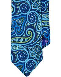 Ted Baker - Men's Textured Paisley Necktie - Lyst