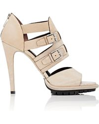 Belstaff - Finchley Caged Sandals - Lyst