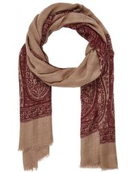 Luciano Barbera - Paisley Lightweight Cashmere Twill Scarf - Lyst