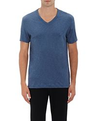 Theory - Gaskell Cotton V-neck T - Lyst
