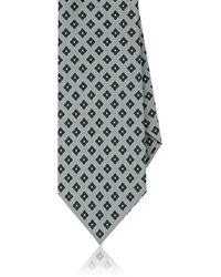 Eidos - Medallion Silk Necktie - Lyst