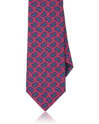 Petronius - Paisley Silk Necktie - Lyst