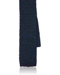 Boglioli - Mélange Silk Knit Necktie - Lyst
