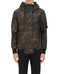 NLST - Camouflage Hooded Flight Jacket - Lyst