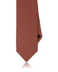 Massimo Bizzocchi - Geometric Silk Necktie - Lyst