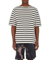 Acne Studios Nimes Striped Cotton Shirt