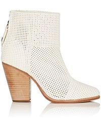 Rag & Bone Newbury Ankle Boots - White
