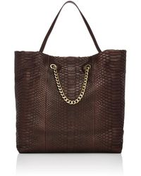 Lanvin - Carry Me Python Shopper Tote Bag - Lyst