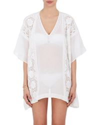 OndadeMar - Embroidered Caftan Top - Lyst