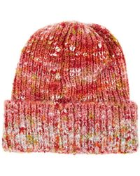 Barneys New York - Mélange Knit Beanie - Lyst