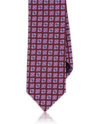 Massimo Bizzocchi - Floral Silk Jacquard Necktie - Lyst