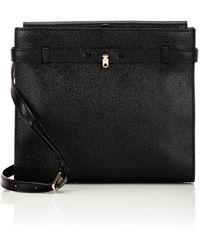Valextra - Brera Leather Messenger Bag - Lyst