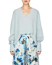 By. Bonnie Young - Varsity Cashmere Sweater - Lyst